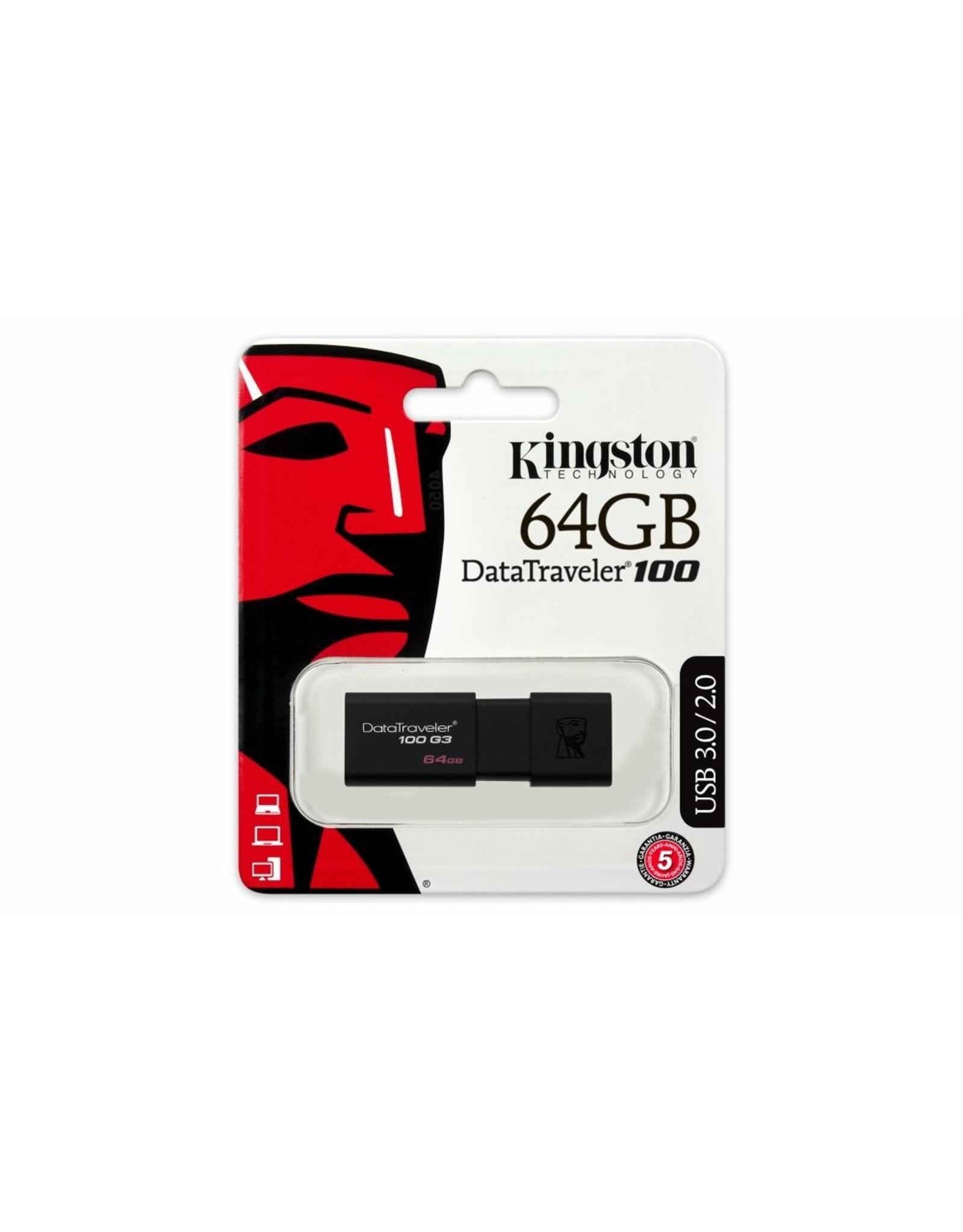 Kingston Storage  DataTraveler 64GB USB3.0 G3
