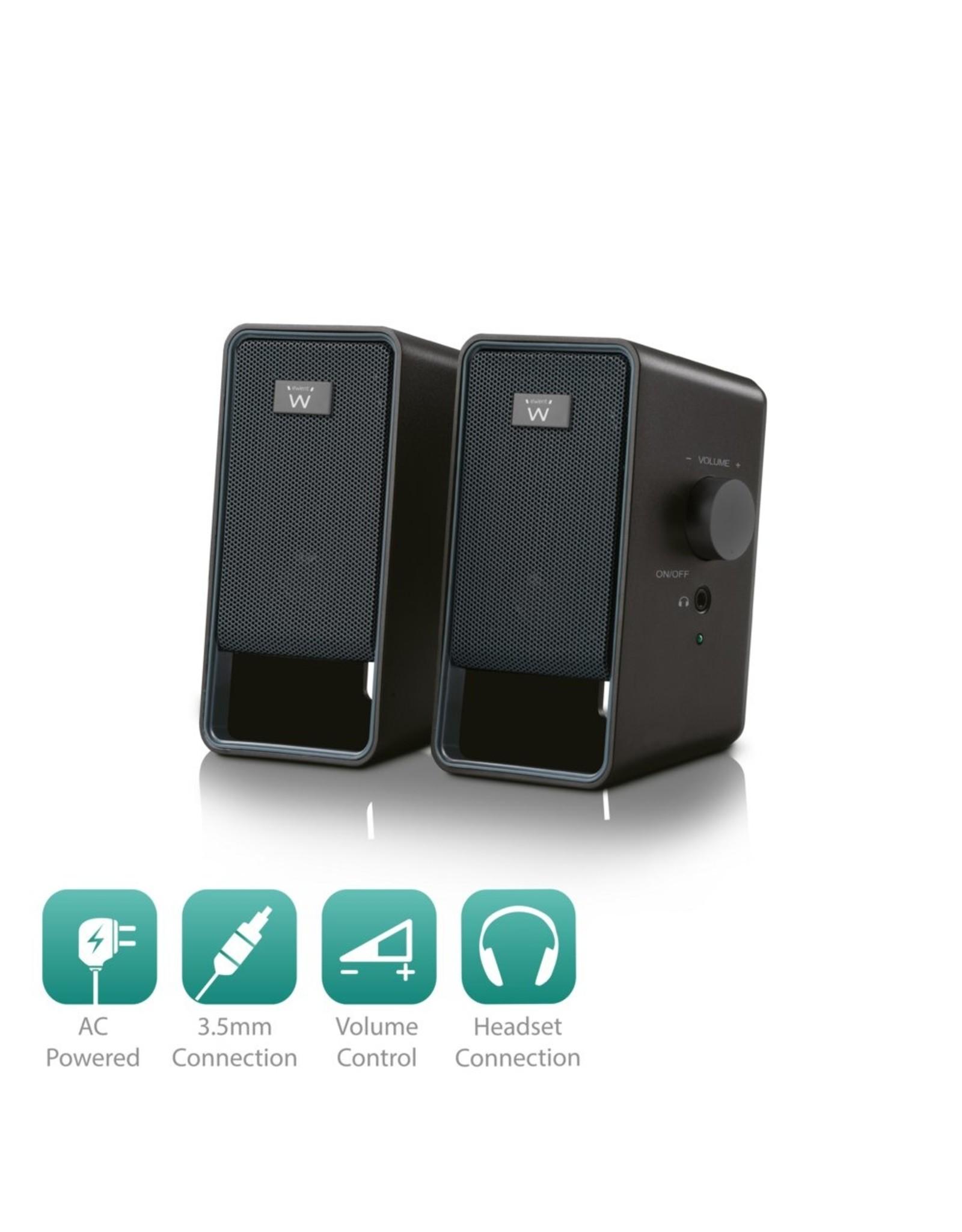 Ewent Speaker set 2.0 AC powered
