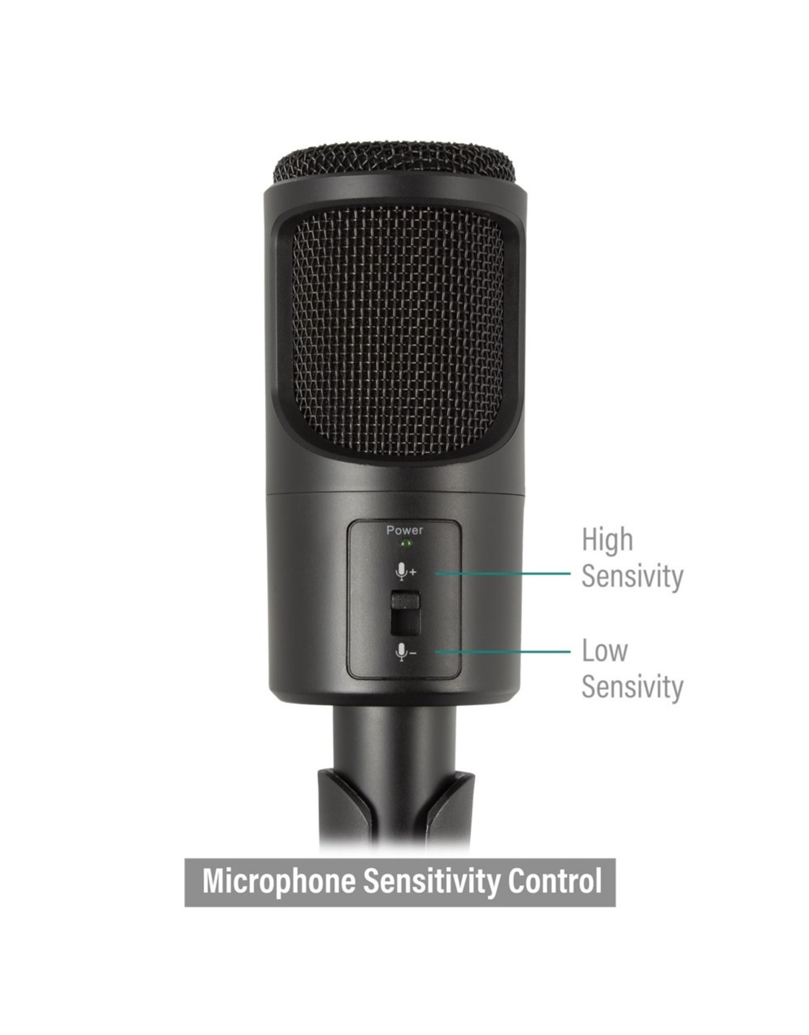 Ewent Professional Multimedia Microphone with stand