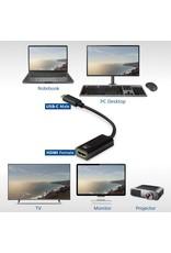 Ewent Converter Type-C - HDMI female 0.15 Meter