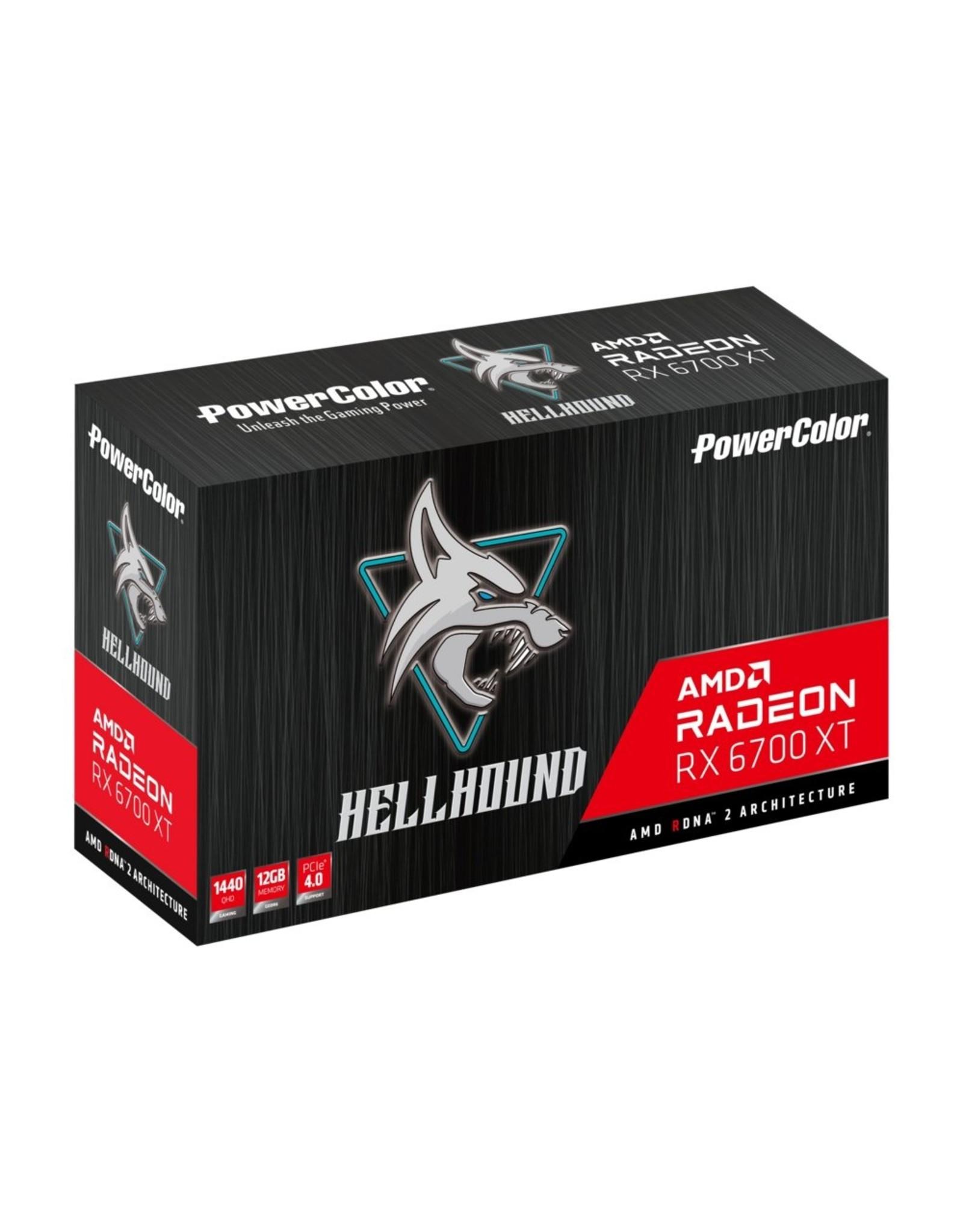 Powercolor VGA PowerColor Radeon HellHound RX 6700XT 12GB