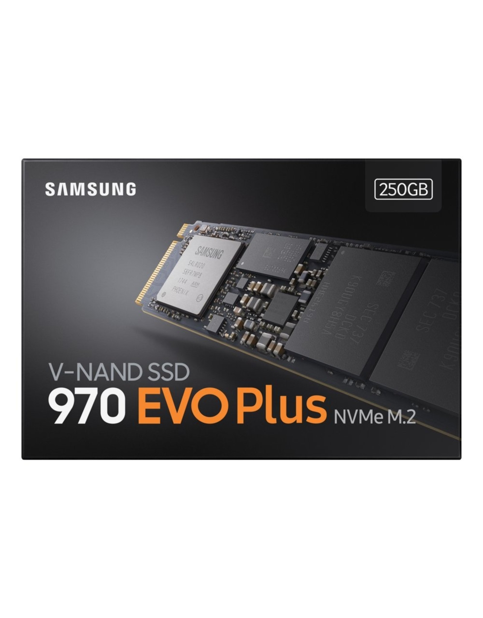 Samsung SSD  970 Evo Plus 250GB NVME M.2  3500MB/s / 2300MB/s