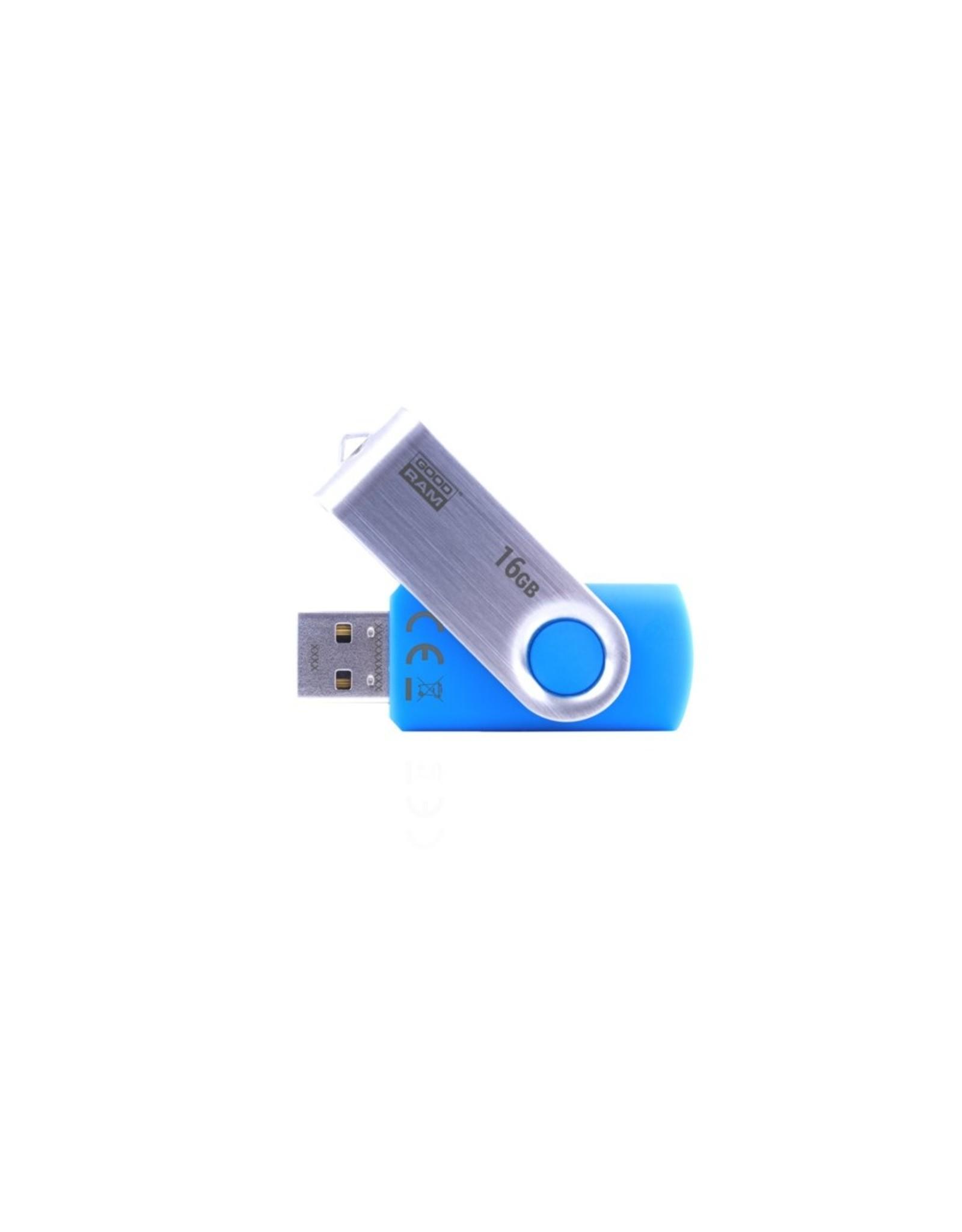 Goodram Storage  Flashdrive 16GB USB 2.0 Blue