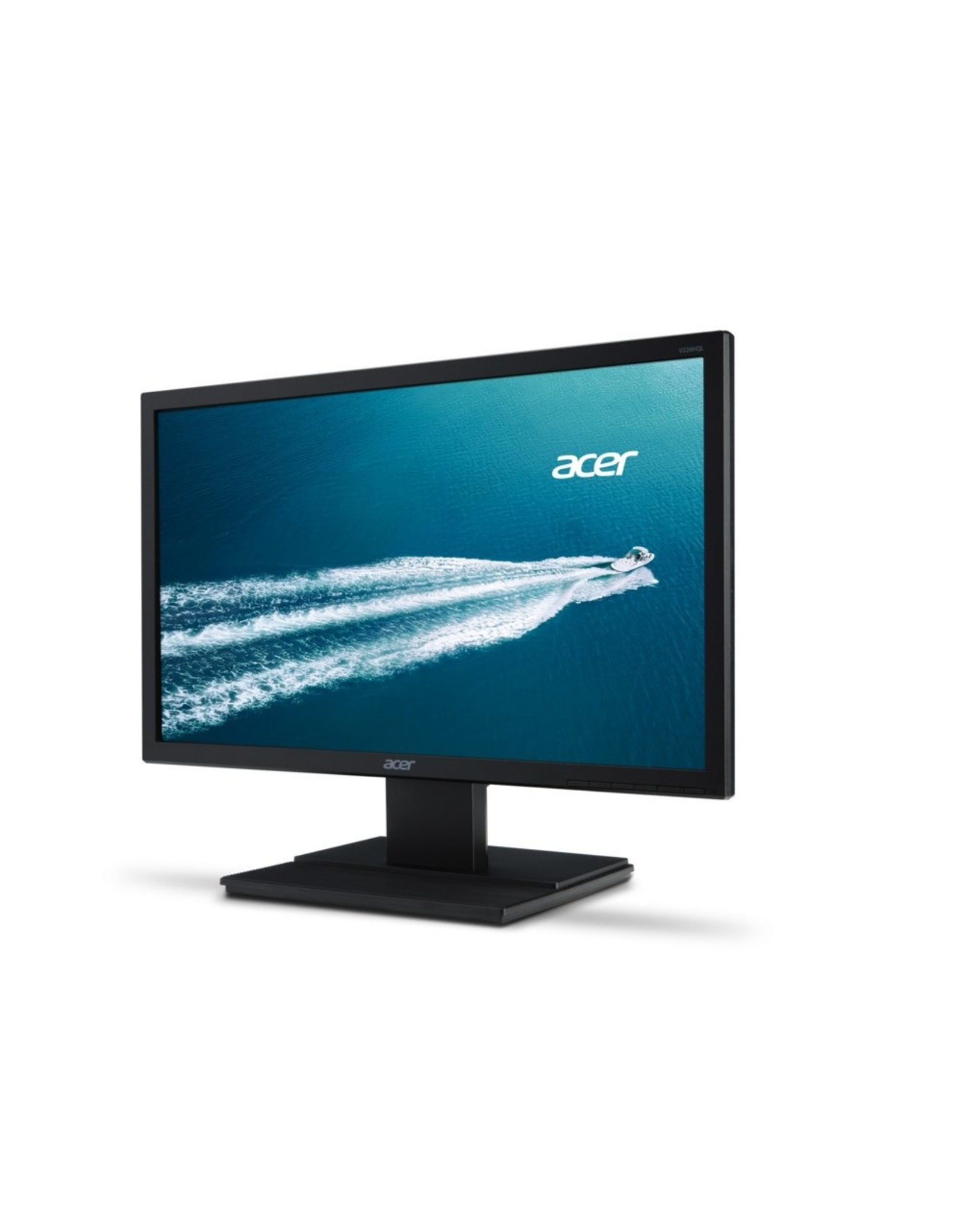 Acer Mon  21.5  F-HD / DVI / VGA / Black (refurbished)