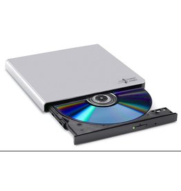 LG Hitachi  / Opti DVD±RW  Writer 24speed USB Extern Silver Slim 14mm