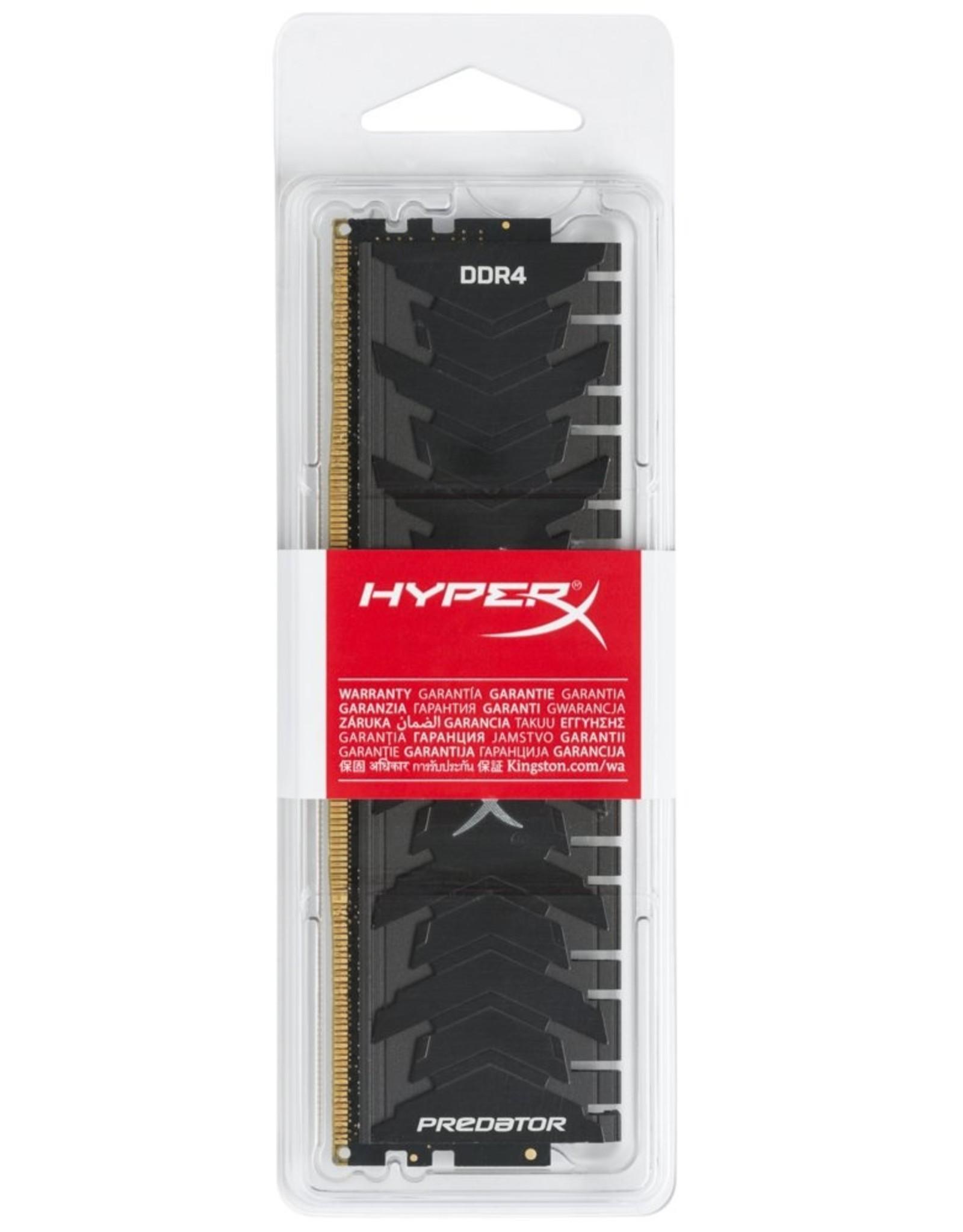 Kingston MEM  HyperX Predator 8GB 1 x 8GB DDR4 2400 MHz DIMM