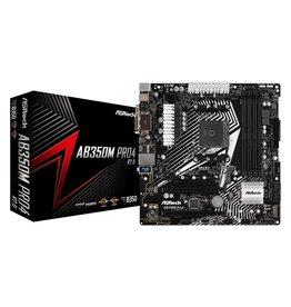 Asrock MB  AB350M Pro4 AM4 R2.0 / 4xDDR4 / USB3 / mATX