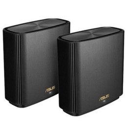 Asus ASUS ZenWiFi AC (CT8) draadloze router Gigabit Ethernet Tri-band (2.4 GHz / 5 GHz / 5 GHz) Zwart
