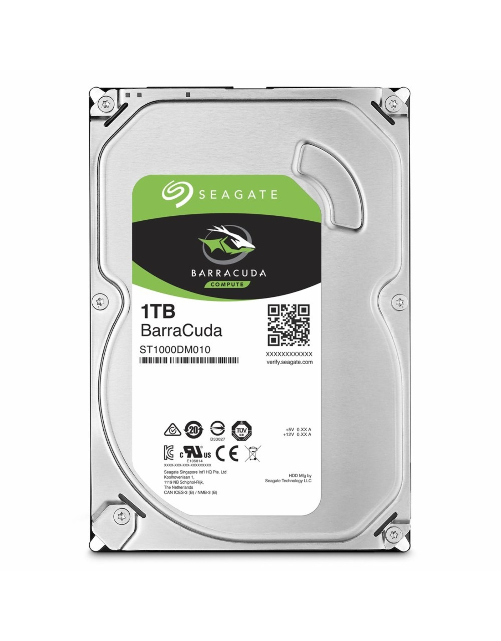 Seagate HDD  1TB - 3.5inch - 7200RPM -  64MB - SATA3