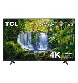 TCL TV  55P610 55inch 4K Ultra HD Smart TV Wi-Fi Zwart/ RENEW (refurbished)
