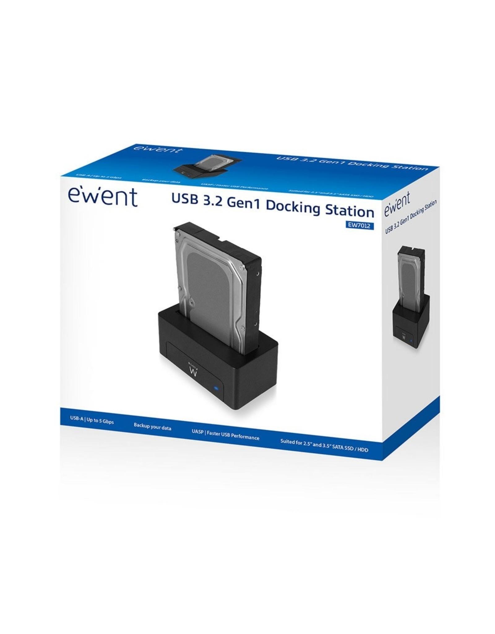 Ewent Eminent Docking Station voor 2.5inch en 3.5inch USB 3.0 (refurbished)