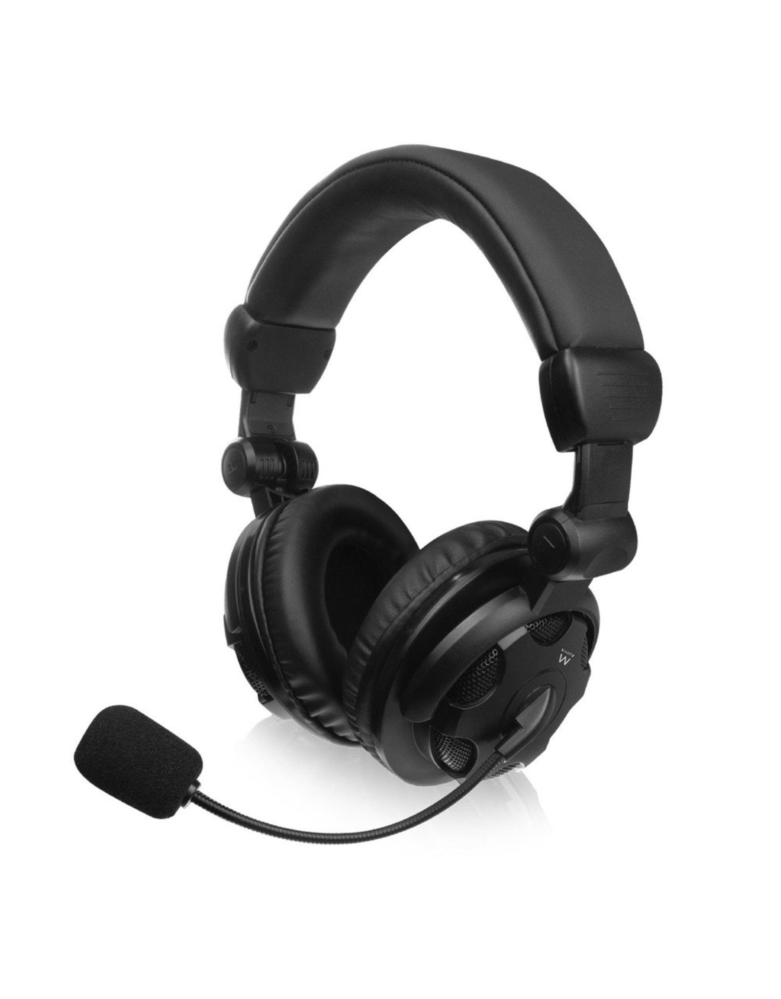 Ewent Headset Over-ear with mic and volume control