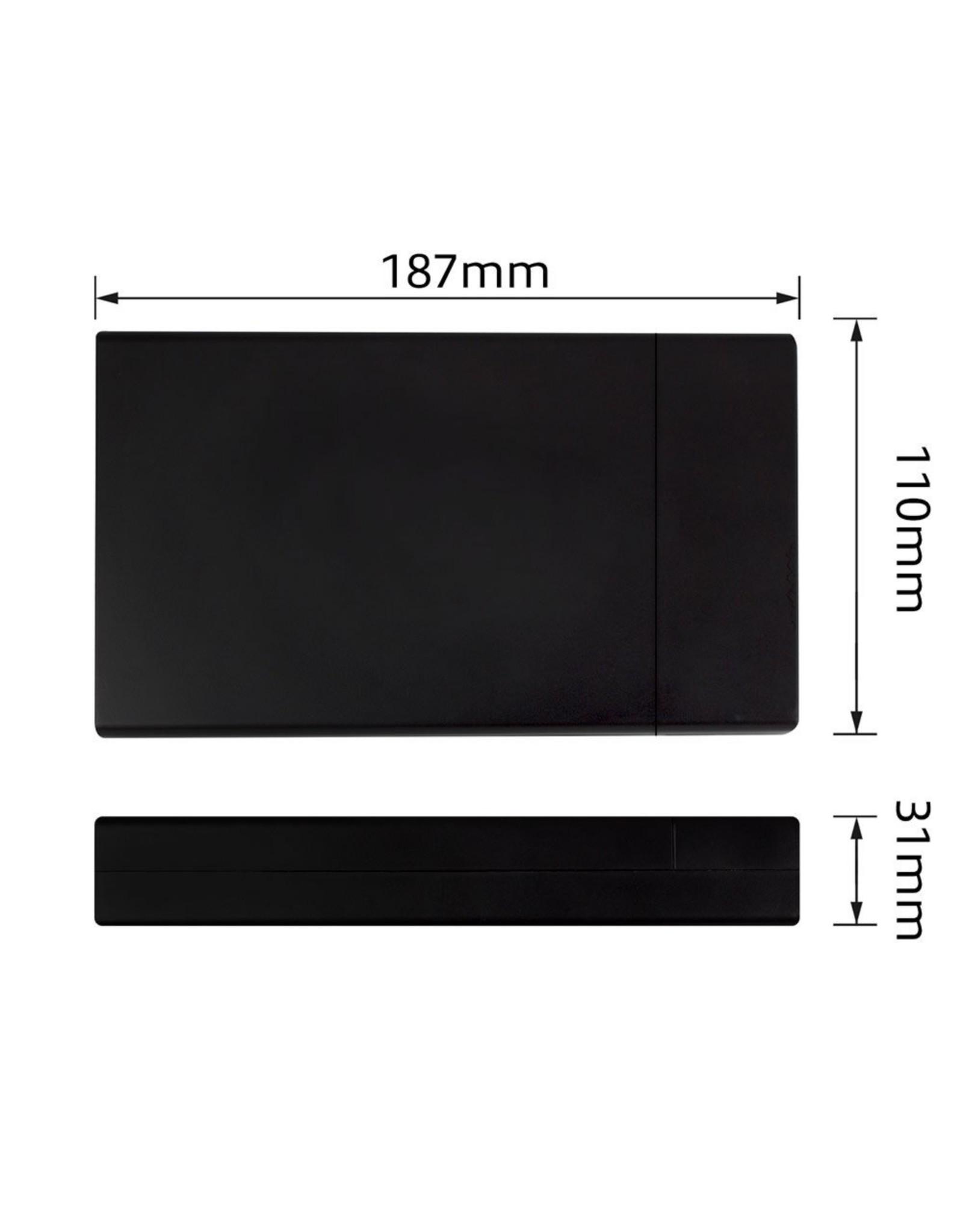 Ewent USB3.1 / USB3.0 / 3.5inch SATA HD Enclosure Screwless