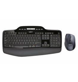 Logitech MK710 toetsenbord RF Draadloos QWERTY US International Zwart