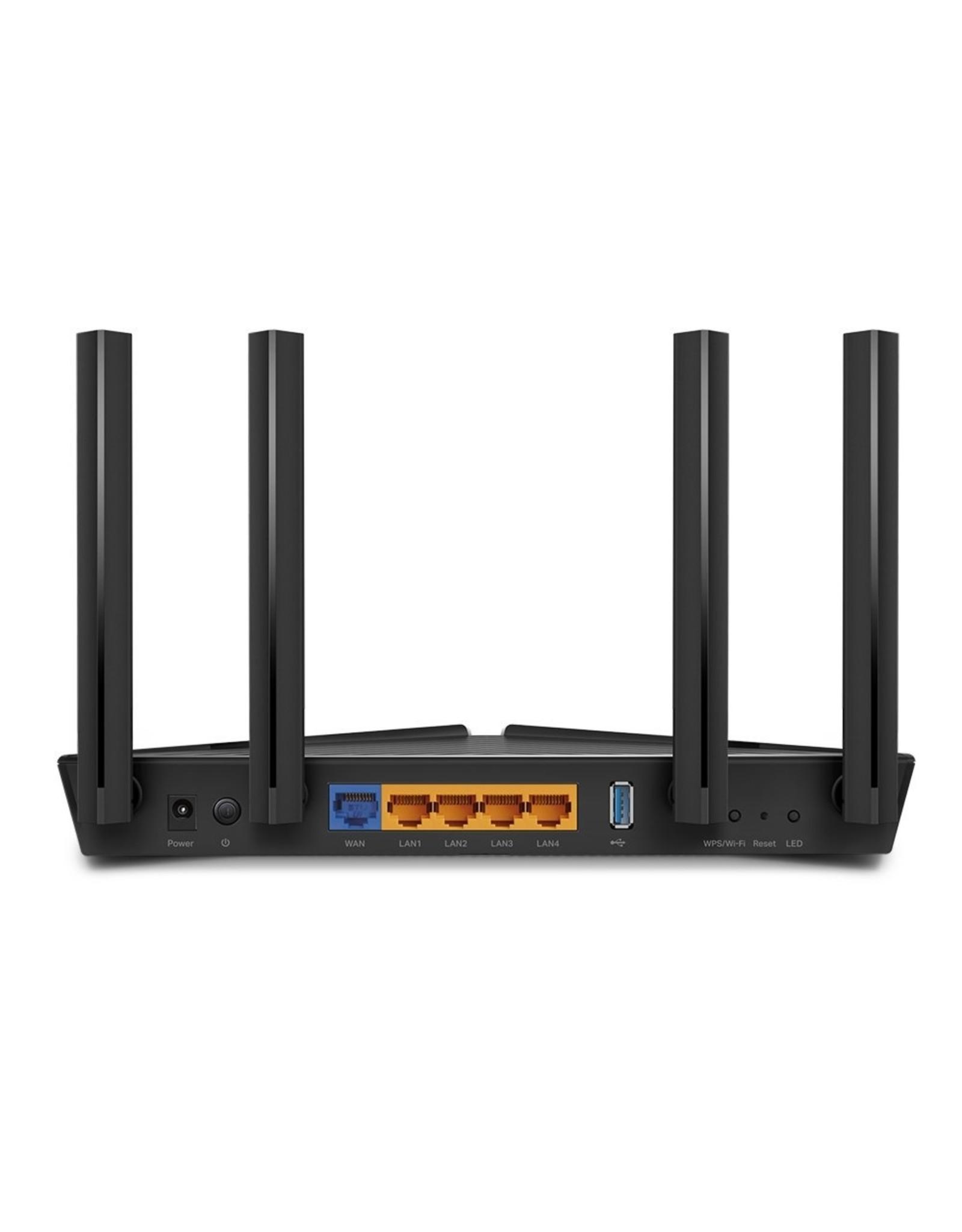 TP-Link TP-LINK Archer AX50 draadloze router Gigabit Ethernet Dual-b