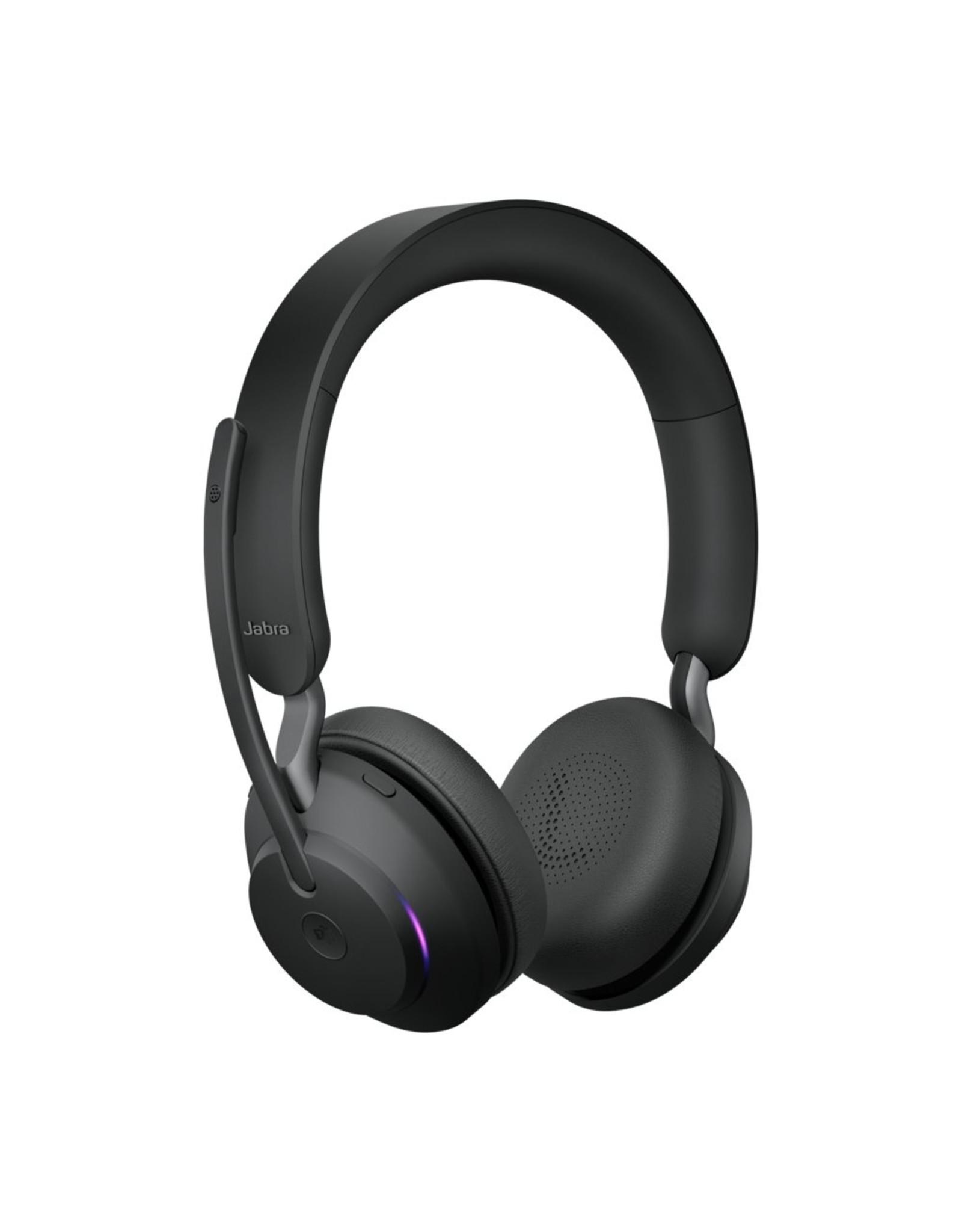 OEM Jabra Headset Evolve 65 Stereo MS Duo + Oplaadstation USB