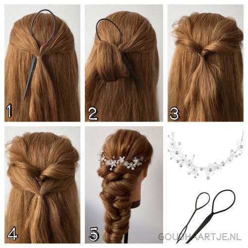 pictorial Elastic twist braid