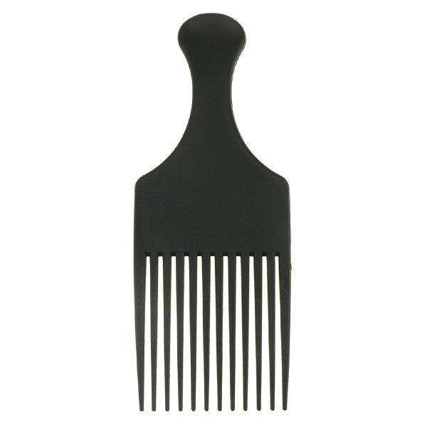 Goudhaartje Afrokam neutraal model kleur zwart