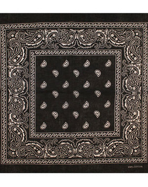 Bandana patroon zwart wit