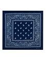 Goudhaartje Bandana patroon blauw wit