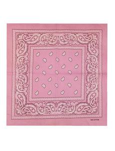 Goudhaartje Bandana patroon roze wit