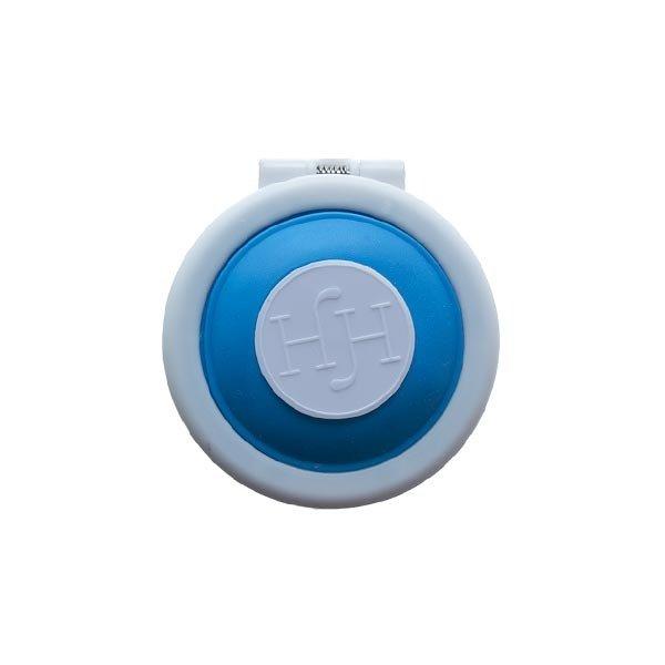 Goudhaartje Haarkrijt in rond doosje in de kleur blauw
