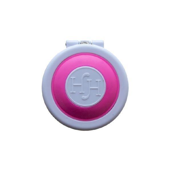 Goudhaartje Haarkrijt in rond doosje in de kleur roze