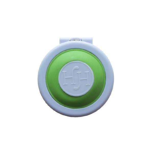 Goudhaartje Haarkrijt in rond doosje in de kleur groen