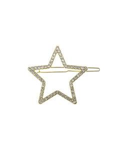 Goudhaartje Haarclip luxe goudkleurig ster