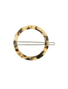 Goudhaartje Haarclip cirkel kleur marmer
