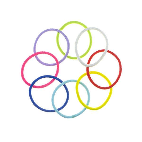 Goudhaartje Haarelastieken set van 8 stuks multicolor