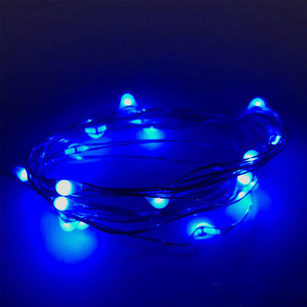 Ibiza hairlights blauw
