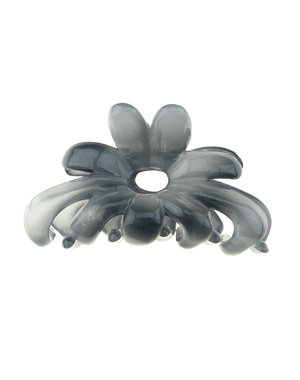 Haarklem blauw grijs bloem
