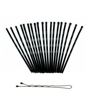 Haarschuifjes set van 20 stuks kleur zwart
