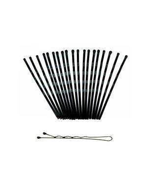 Goudhaartje Haarschuifjes set van 24 stuks kleur zwart