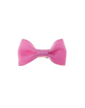 Haarstrikje klein vrolijk in de kleur roze