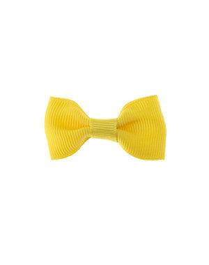 Haarstrikje klein vrolijk in de kleur geel