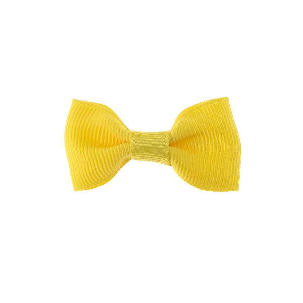 Goudhaartje Haarstrikje klein vrolijk in de kleur geel