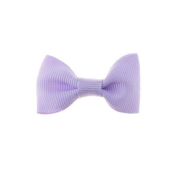 Goudhaartje Haarstrikje klein vrolijk in de kleur lila
