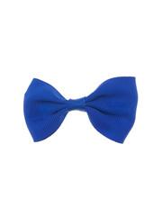 Goudhaartje Haarstrik model strak in de kleur blauw