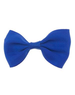 Haarstrik model strak in de kleur blauw