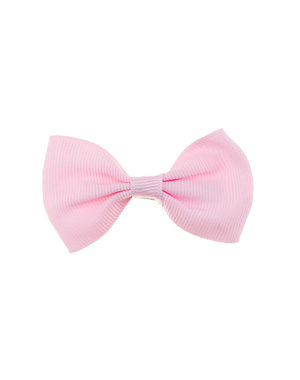 Goudhaartje Haarstrik model strak in de kleur roze