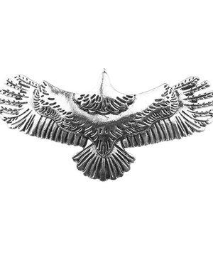 Patent speld adelaar zilverkleurig