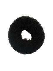 Goudhaartje Haardonut rond in de kleur zwart per stuk