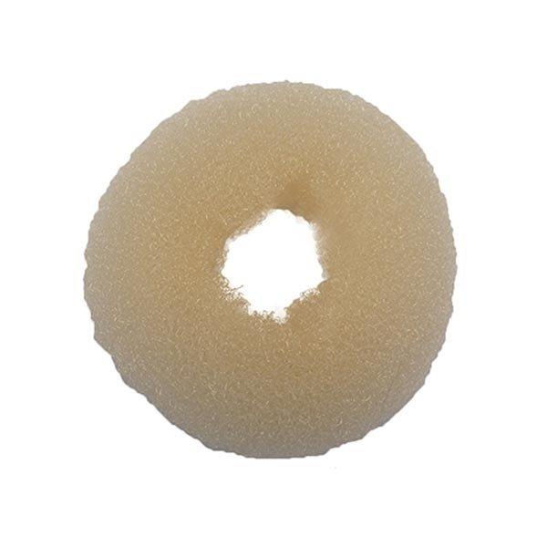Goudhaartje Haardonut rond in de kleur blond per stuk