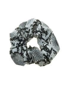 Goudhaartje Scrunchie slangenprint