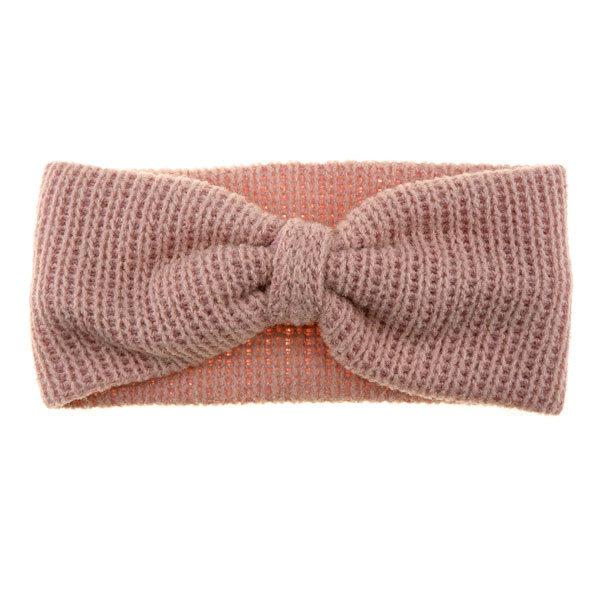 Haarband gebreid Me Lady roze