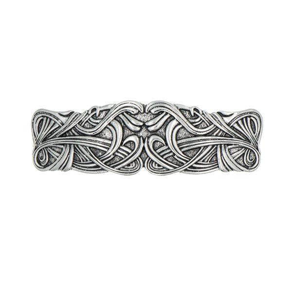 Goudhaartje Patent speld zilverkleurig keltisch