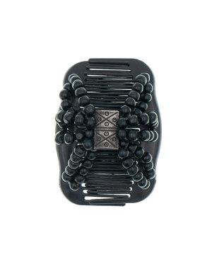 Ez comb houten kralen zwart symbols