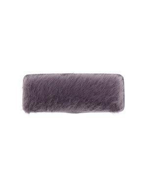Haarclip rechthoekig soft paars